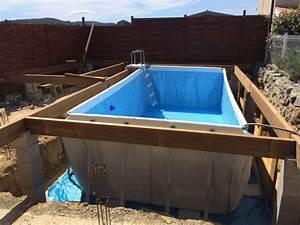 nivremcom terrasse bois autour piscine tubulaire With amenagement autour d une piscine hors sol 4 construction pose vente amenagement de terrasses bois