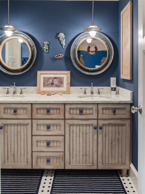 Nautical Themed Bathroom Houzz