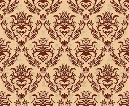 Pattern Seamless Brown Vector Clipart Patterns Backgrounds