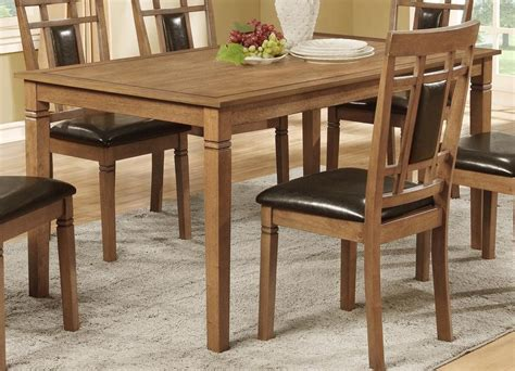 Kitchen Chairs Gold Coast by Aran 7 Dining Package Light Mango The Brick