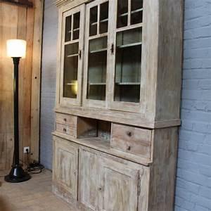Mobilier Industriel Ancien : mobilier industriel ancien meuble 2 corps en bois ~ Teatrodelosmanantiales.com Idées de Décoration
