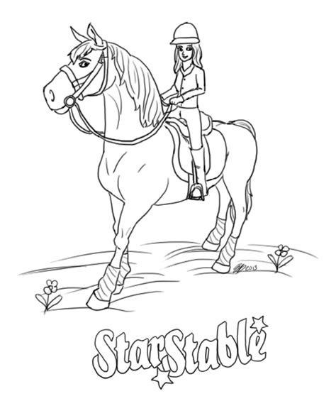 star stable  mel kolorowanki