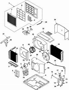 Chassis Assembly Diagram  U0026 Parts List For Model Aw1800a