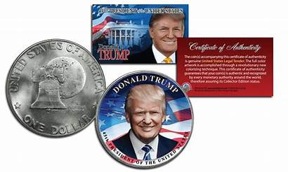 Trump President Donald Official Dollar Legal Tender