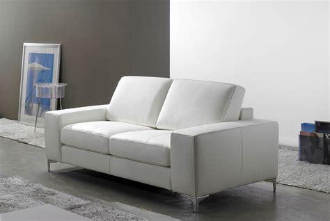 canape en cuir blanc canape design cuir blanc