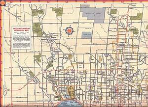Toronto Road Map  C  1947   Vintage  Maps  1940s  Canada