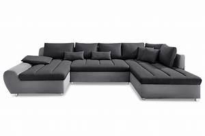 Sofa Xxl Mit Schlaffunktion : wohnlandschaft bandos xxl mit schlaffunktion anthrazit sofa couch ecksofa ebay ~ Indierocktalk.com Haus und Dekorationen