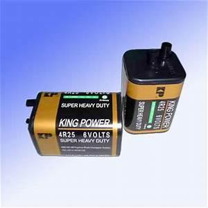 Dry Zinc-Manganese Battery (4R25) - China batteries, dry ...
