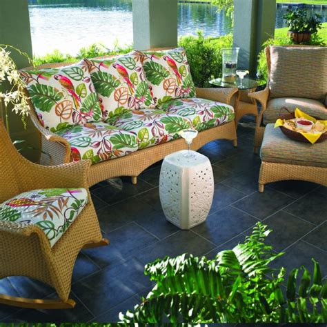 Lloyd Flanders Patio Furniture Covers by Lloyd Flanders Wicker Furniture Mandalay Zippered Fabric