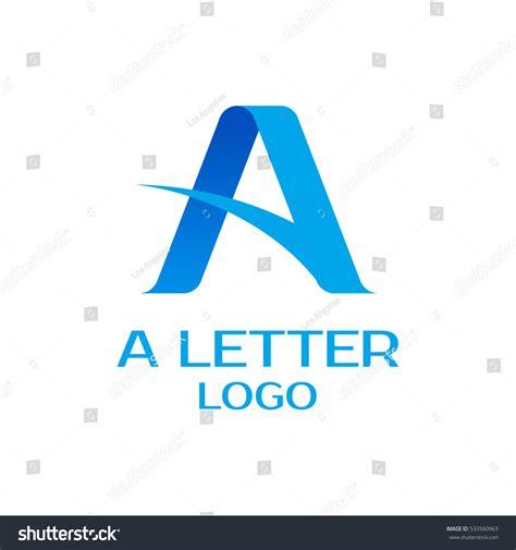 letter logo design vector template vector logo stock