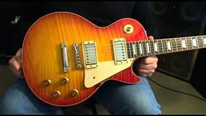 2003 Gibson Les Paul  U0026 39 59 Reissue Brazilian Fretboard  1959 R9