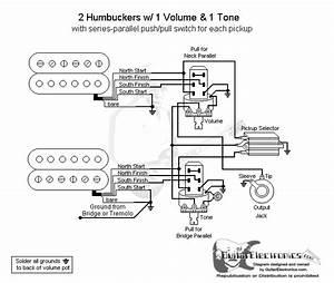 Guitar Wiring Diagram Two Humbuckers 1 Volume 1 Tone : 2 humbuckers 3 way toggle switch 1 volume 1 tone series ~ A.2002-acura-tl-radio.info Haus und Dekorationen