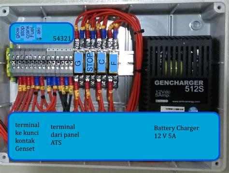 jual panel genset ats amf 33 kva 3phase 11 kva 1 phase with metering ats genset