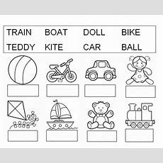 Vocabulary Of Toys  Interactive Worksheet