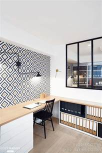Amenagement Bureau Maison Ikea by Best 25 Geometric Wallpaper Ideas On Pinterest Modern