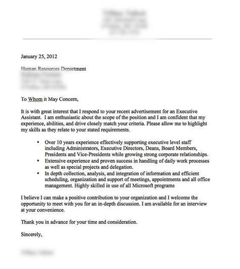 good cover letter  resume cover letter