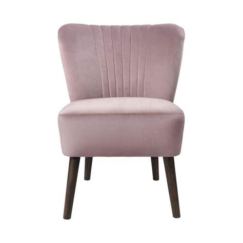 Bedroom Chair by Dusky Pink Velvet Bedroom Chair By Ella