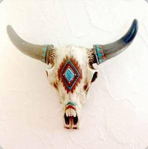 Tete De Vache Deco : crane de vache r sine indien ~ Melissatoandfro.com Idées de Décoration