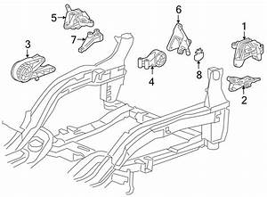 Chevrolet Cruze Manual Transmission Mount  Auto  Engine