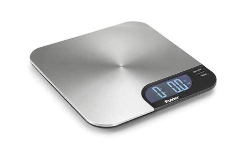 Polder Slimmer Stainless Digital Kitchen Scale  Bite Of