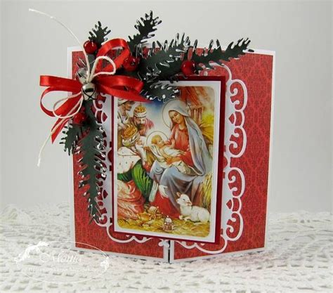 traditional christmas card crafts pinterest