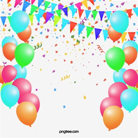 clipart palloncini balloon decoration celebration background material