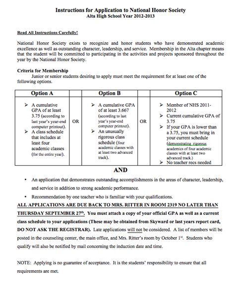 Nhs Application Resume by Enron Rutgers Essay