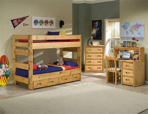 trendwood bunk beds trendwood wrangler bunk bed collection