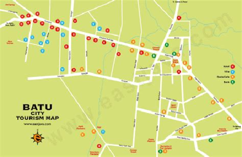 peta kota batu peta wisata batu jawa timur
