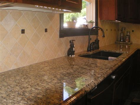 Giallo Napoleon Granite Countertop Kitchen Design Ideas