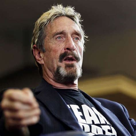 Presidential Candidate John McAfee Flees U.S. for Alleged ...