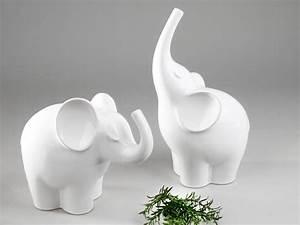 Deko Pilze Aus Keramik : formano deko elefant aus keramik 25 cm wei glasiert deko links ebay ~ Bigdaddyawards.com Haus und Dekorationen