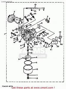 Yamaha Ef4000dve Ef5000dve Generator Carburetor
