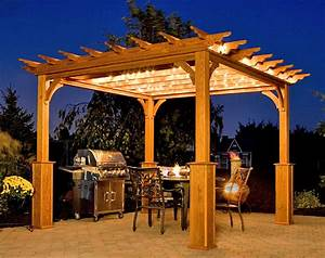 Woodwork Wood Pergolas PDF Plans