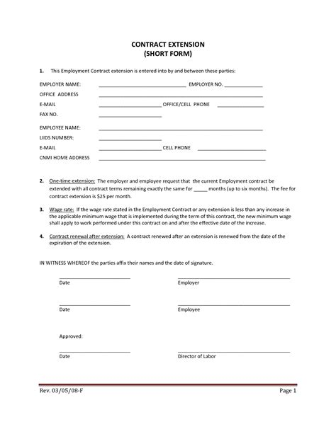 contract labor contract form 10 best images of employee wage agreement form salary