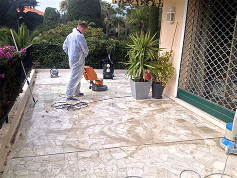 nettoyage de terrasses balcons sols extérieurs