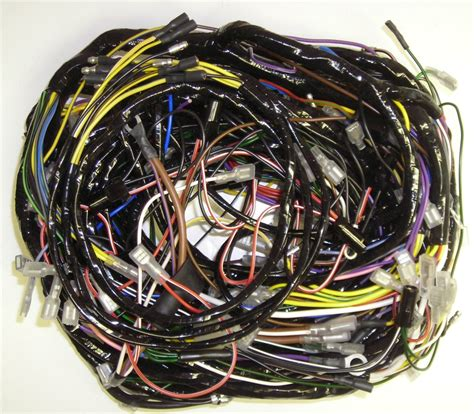 European Wiring Harnes by Lotus Europa S3 1973 74 Complete Wiring Harness