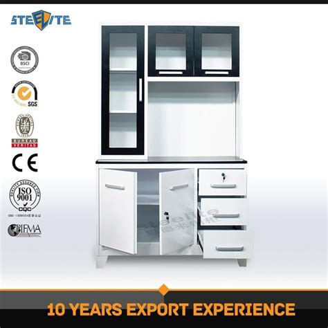 ready made stainless steel kitchen cabinets kitchen furniture stainless steel foldable cheap kitchen 9194