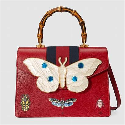 Gucci Bag Leather Medium Handle Bags Handbags