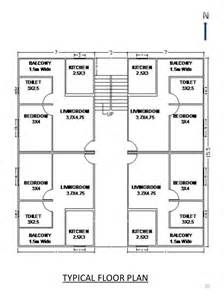 The Storey Residential Building Plan by 4 Storey Residential Building Floor Plan Modern House