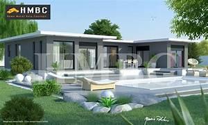 Maison Moderne Elysa 137 M2 - Hmbc - Home Metal Bois Concept