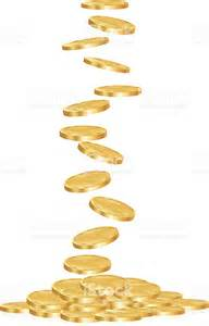 Falling Gold Coins Clip Art