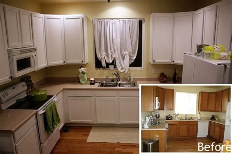 painting kitchen cabinets white    pictures