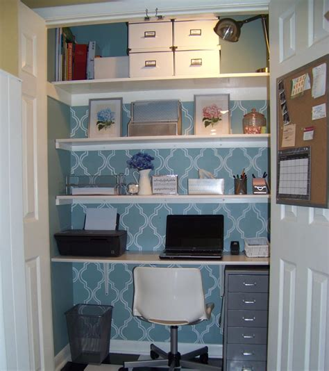 turn your closet into a home office startabiz org