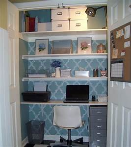 Turn your closet into a home office startabizorg for Turn closet home office