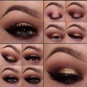 Golden smokey eyes Eye base, Eyeshadows: Vino, Sweet Plum ...
