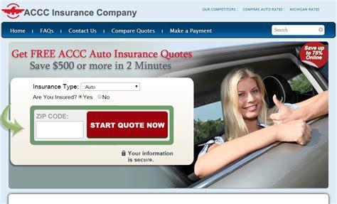 Free Accc Auto Insurance Quote