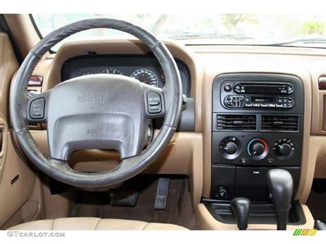 jeep grand cherokee dashboard 2000 jeep grand cherokee laredo 4x4 camel dashboard photo