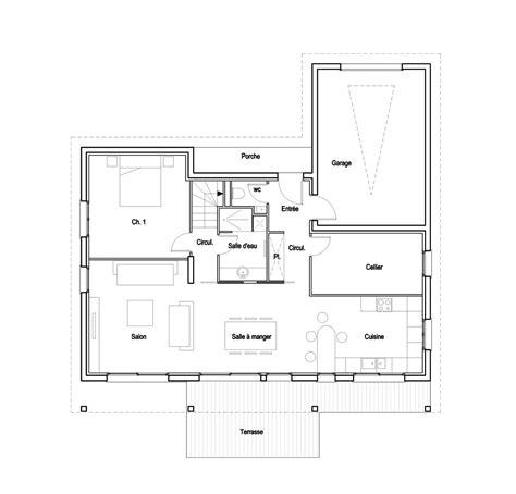 maison cubique plan maison moderne