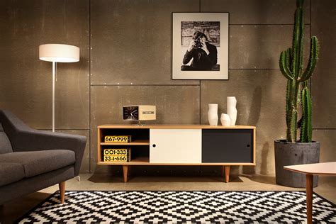 sideboard skandinavisches design moderne retro m 246 bel im skandi stil